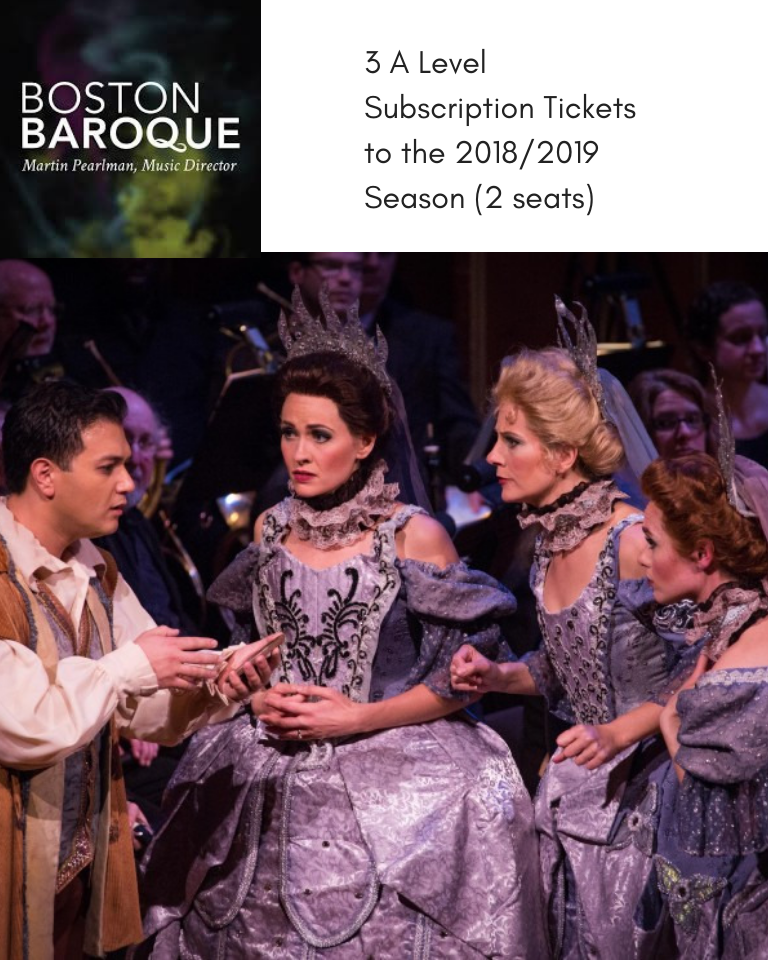 Boston Baroque Season Subscriptions