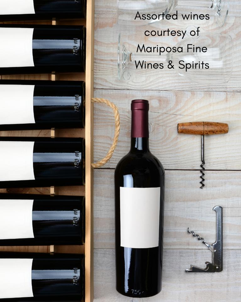 Mariposa Wine Basket
