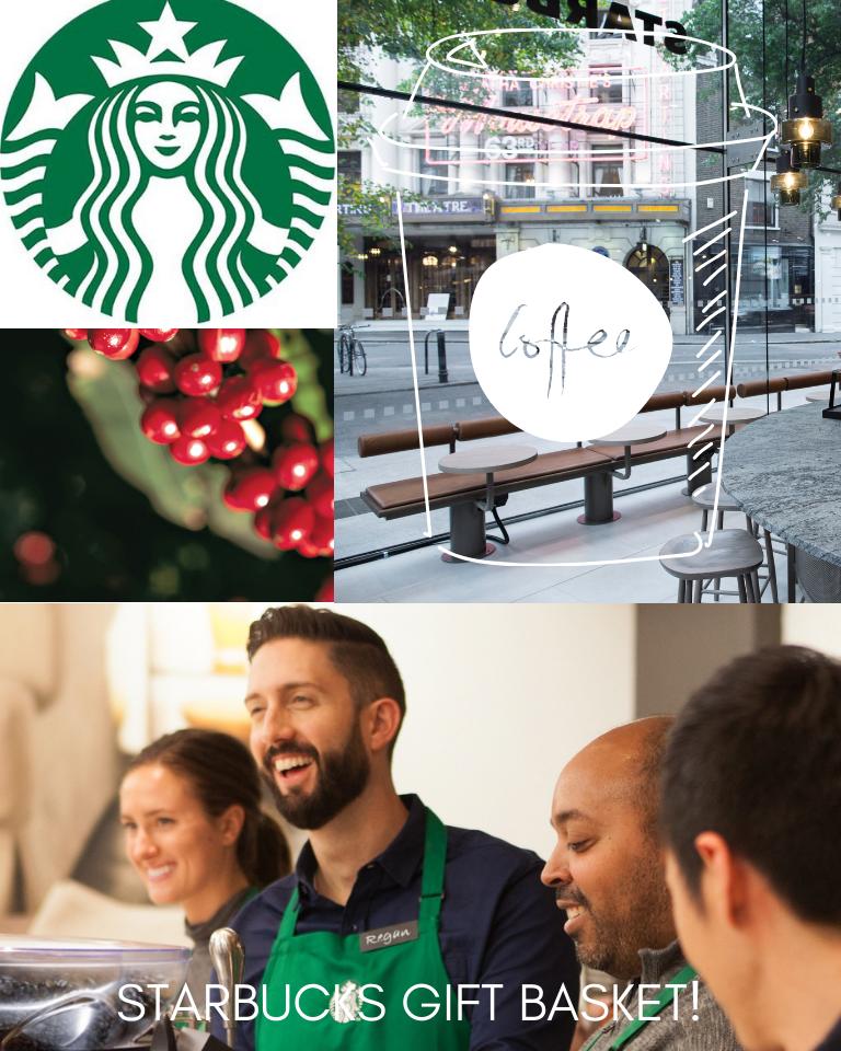 Assorted Starbucks Gift Basket