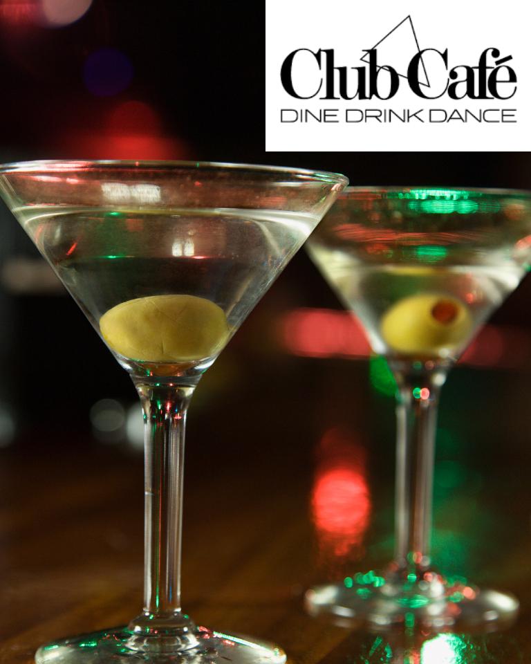 Club Café Liquor & Stemware Basket