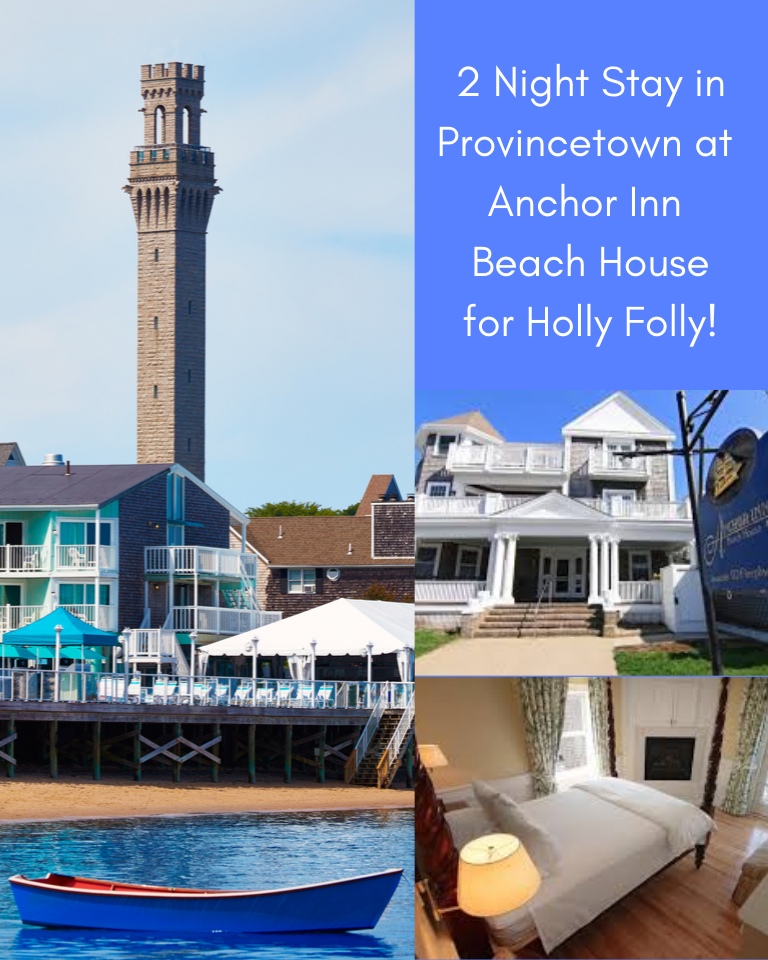 2 Night Stay at Anchor Inn in Provincetown for Holly Folly